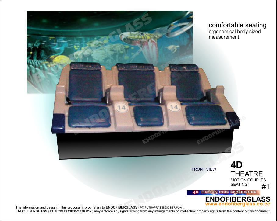 Desain Bangku Fiberglass 4D