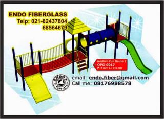Jual Playground Tanam Bermain Anak Sekolah type OPG-017