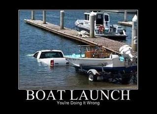 Saving Humanity at the Boat Launch