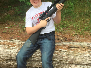 My First Firearm - Age 10