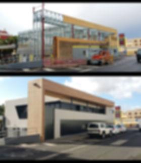 2 Viviendas y oficina en Stell Framing, construcción en seco