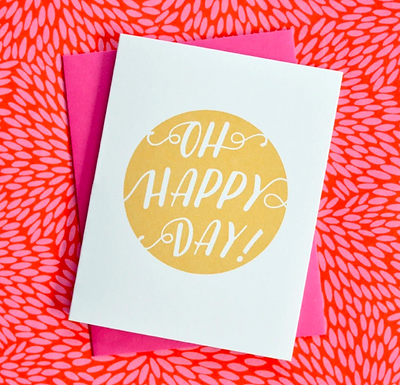 Oh Happy Day! Card by Pennie Post