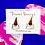 Thumbnail: Dessert Ice Cream Bear Enameled Stud Earrings by Harumo Bakery