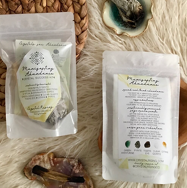 Manifesting Abundance Crystal Success Kit by Crystal Rising