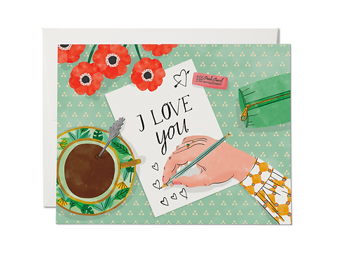 Love Note Card by Red Cap Cards