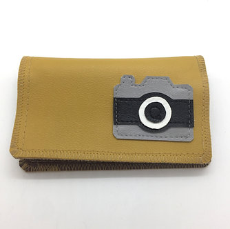Camera Slim Wallet by Quiet Doing