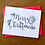 Thumbnail: Set of 6 Merry Christmas DIY Holiday Coloring Cards by Pennie Post