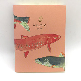 Salmon Unlined Pocket Notebook by Baltic Club