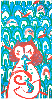 Fishing Adventure Print by Harumo Sato
