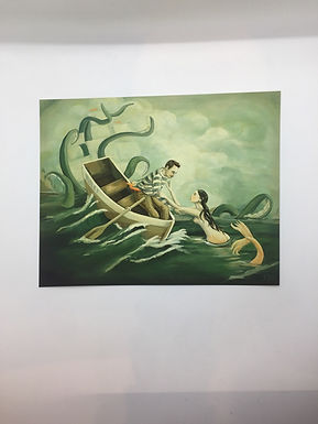 The Deep Green Sea Print by Emily Winfield Martin