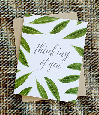 Thinking of You Card by Pennie Post