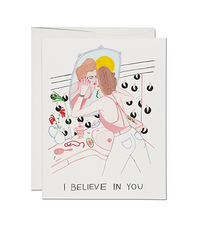 Self Reflection Card by Red Cap Cards
