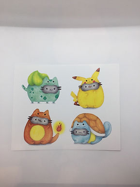 Pusheen Pokemon Costumes by Ria Art