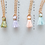Thumbnail: Unicorn Necklace (Rose Quartz) by Dawning Collective