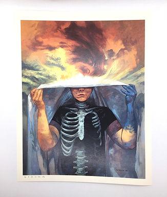 """Walker between Worlds"" Signed Print by Steven Russell Black"