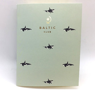 Orca Unlined Pocket Notebook by Baltic Club