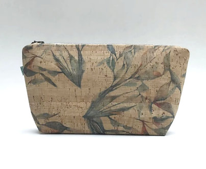 Multileaf Cork Pouch by Curio Wolf