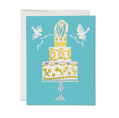 Love Cake Card by Red Cap Cards