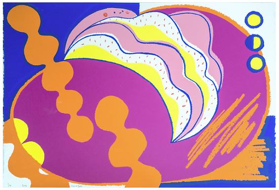 Buns (Edition 10/16) Screen Print by Harumo Sato