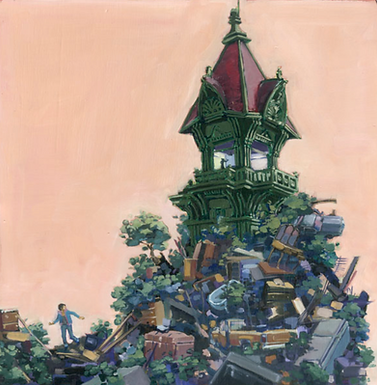 FS#2: Tuan's Fortress Print by Scout Tran