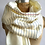Thumbnail: College Ruled Lined Paper Pashmina Scarf by Cyberoptix