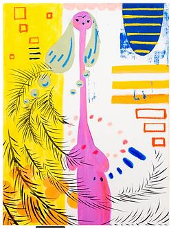 Ave Maria Print by Harumo Sato