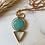 Thumbnail: Geometric Amazonite Necklace
