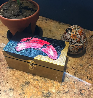 """""""Lose Thy Tongue"""" Box by Leeonnista"""
