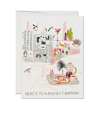 Birthday Perfection Card by Red Cap Cards