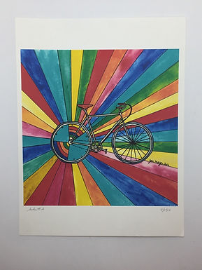 """Bike #2"" Print by Jen Meyer"
