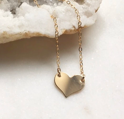 Sweetheart Necklace by Token Jewelry Designs