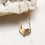 Thumbnail:  Sweetheart Necklace by Token Jewelry Designs