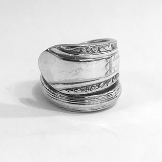 Vintage Spoon Ring by John Marchello