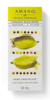 Cardamom Black Pepper Chocolate Bar by Amano Artisan Chocolate