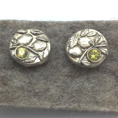 Lemon Earrings by Petite Sunflower Shop