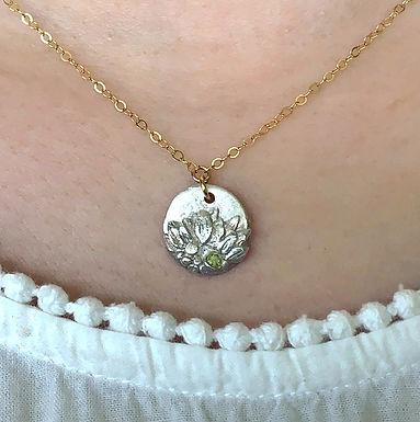 Petite Sunflower Necklace by Petite Sunflower Shop
