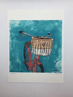 """Bike #3"" Print by Jen Meyer"