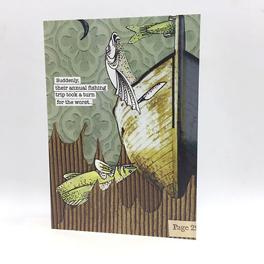 Fishing Trip Card by Go Jet Go Designs