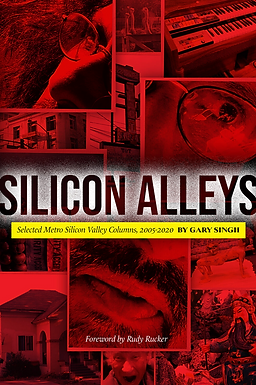 Silicon Alleys Book (signed by author) by Gary Singh