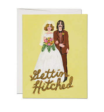 Getting' Hitched Card by Red Cap Cards