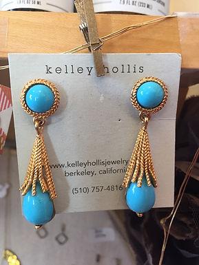 Earrings by Kelley Hollis