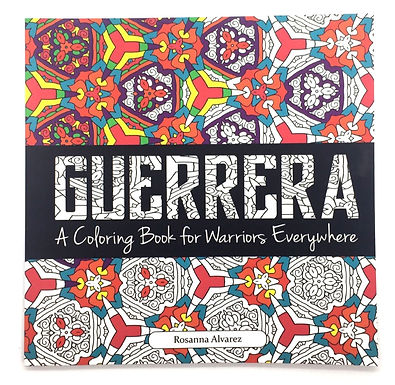 """""""Guerrera: A Coloring Book for Warriors Everywhere"""" Book by Citlali Rose"""