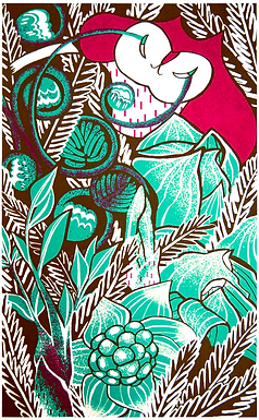Gathering in the Wild Print by Harumo Sato