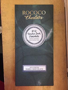 65% Big Smoke Dark Chocolate with Lapsang Souchang Tea by Rococo Chocolates
