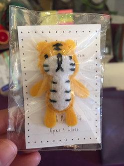 Tiger Pin by Ria Art