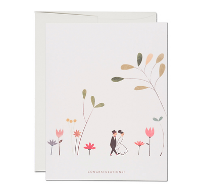 Perfect Wedding Card by Red Cap Cards