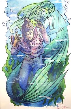 """The Little Mermaid"" Signed Print by Heidi Black"