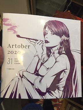 Artober 2020 Zine by Momo-Cha