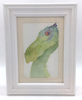 Original Framed Watercolor by Emily Hare
