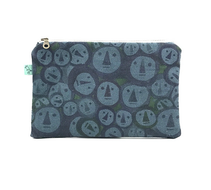 Hubert Flat Pouch by Curio Wolf